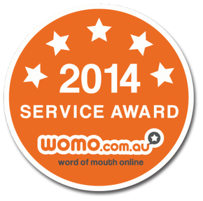 WOMO 2014 Services Award